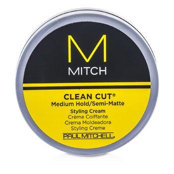 Paul Mitchell Mitch Clean Cut Medium Hold/Semi-Matte Styling Cream  85g/3oz