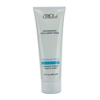Priori Advanced AHA Invigorating Face & Body Scrub (Salon Product)  200ml/6.8oz