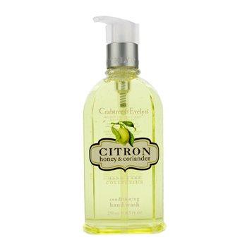 Crabtree & Evelyn Citron, Honey & Coriander Conditioning Hand Wash  250ml/8.5oz
