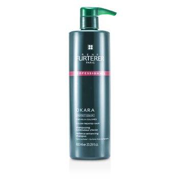 Rene Furterer Okara Radiance Enhancing Shampoo - For Color-Treated Hair (Salon Product)  600ml/20.29oz