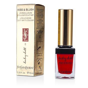 Yves Saint Laurent Baby Doll Kiss & Blush - # 06 Rouge Libertine  10ml/0.33oz