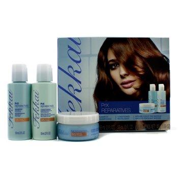 Frederic Fekkai PrX ReparaPrX Reparatives Mini Collection: Shampoo 59ml + Conditioner 59ml + Intense Fortifying Masque 48g  3pcs