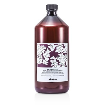 Davines Natural Tech Replumping Shampoo (For All Hair Types)  1000ml/33.8oz