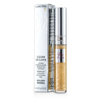 Lancome Gloss In Love Lip Gloss - # 102 Golden Riviera  6ml/0.2oz