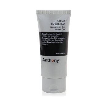 Anthony Logistics For Men Oil Free Facial Lotion (Normal To Oily Skin)  90ml/3oz