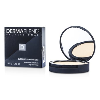 Dermablend Intense Powder Camo Compact Foundation (Medium Buildable to High Coverage) - # Nude  13.5g/0.48oz