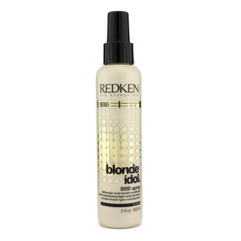 Redken Blonde Idol BBB Spray Lightweight Multi-Benefit Conditioner (For Beautiful Blonde Hair)  150ml/5oz