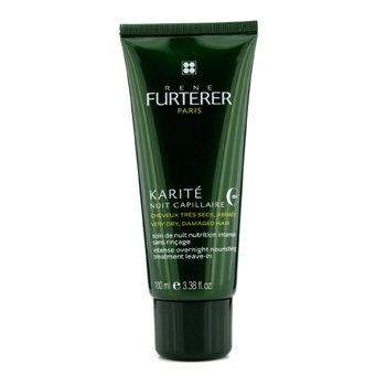 Rene Furterer Karite Intense Overnight Nourishing Treatment Leave-in (For Very Dry, Damaged Hair)  100ml/3.38oz