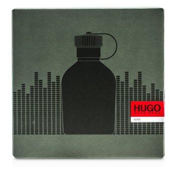 Hugo Boss Hugo Coffret: Eau De Toilette Spray 125ml/4.2oz + Portable Speaker  2pcs