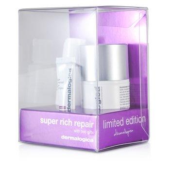 Dermalogica Super Rich Repair Limited Edition Set: Super Rich Repair 50ml + Eye Make-Up Remover 30ml + Eye Complex 5ml  3pcs