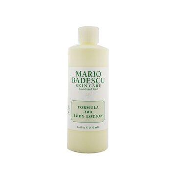 Mario Badescu Formula 200 Body Lotion - For All Skin Types  472ml/16oz