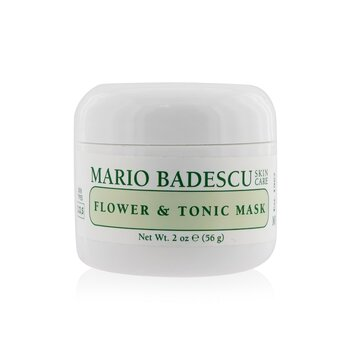 Mario Badescu Flower & Tonic Mask - For Combination/ Oily/ Sensitive Skin Types  59ml/2oz
