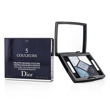 Christian Dior 5 Couleurs Couture Colours & Effects Eyeshadow Palette - No. 276 Carre Bleu  6g/0.21oz
