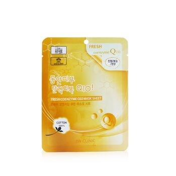 3W Clinic Mask Sheet - Fresh Coenzyme Q10  10pcs