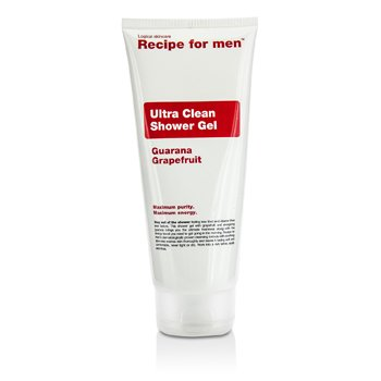 Recipe For Men Ultra Clean Shower Gel  200ml/6.7oz
