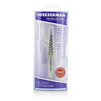 Tweezerman Professional Slant Tweezer - Regency Finish  -