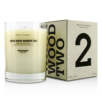 Baxter Of California Scented Candles - White Wood Two  350g/12.5oz