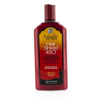 Agadir Argan Oil Hair Shield 450 Plus Deep Fortifying Conditioner - Sulfate Free (For All Hair Types)  366ml/12.4oz