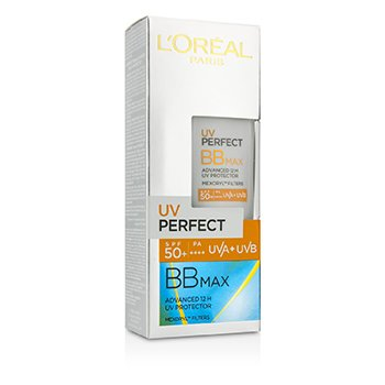 L'Oreal UV Perfect BB Max SPF 50+ Advanced 12H UV Protector  30ml/1oz