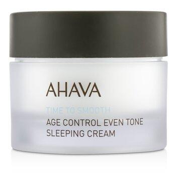 Ahava Time To Smooth Age Control Even Tone Sleeping Cream  50ml/1.7oz