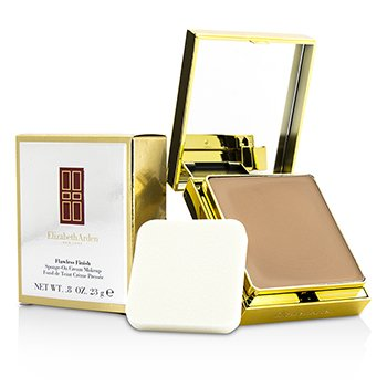 Elizabeth Arden Flawless Finish Sponge On Cream Makeup (Golden Case) - 50 Softly Beige II  23g/0.08oz