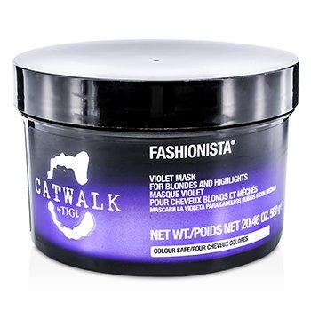 Tigi Catwalk Fashionista Violet Mask (For Blondes and Highlights)  580g/20.46oz