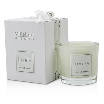 Millefiori Lovely Candle In Bicchiere - Bianco  60g/2.11oz