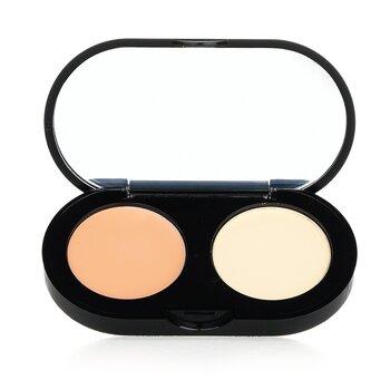 Bobbi Brown New Creamy Concealer Kit - Cool Sand Creamy Concealer + Pale Yellow Sheer Finish Pressed Powder  3.1g/0.11oz