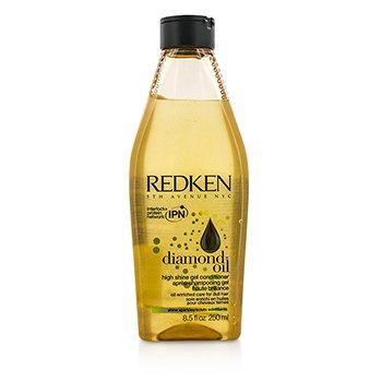 Redken Diamond Oil High Shine Gel Conditioner (For Dull Hair)  250ml/8.5oz