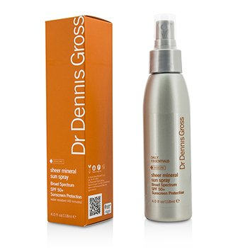 Dr Dennis Gross Sheer Mineral Sun Spray SPF 50+  118ml/4oz