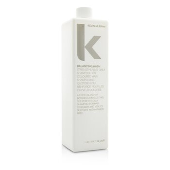 Kevin.Murphy Balancing.Wash (Strengthening Daily Shampoo - For Coloured Hair)  1000ml/33.6oz
