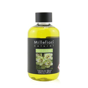 Millefiori Natural Fragrance Diffuser Refill - Fiori D'Orchidea  250ml/8.45oz