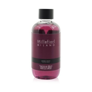 Millefiori Natural Fragrance Diffuser Refill - Grape Cassis  250ml/8.45oz