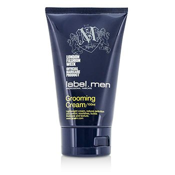 Label.M Men's Grooming Cream (Lightweight Cream, Natural Definition and Control, Nourishes, Builds Thickness and Texture)  100ml/3.4oz
