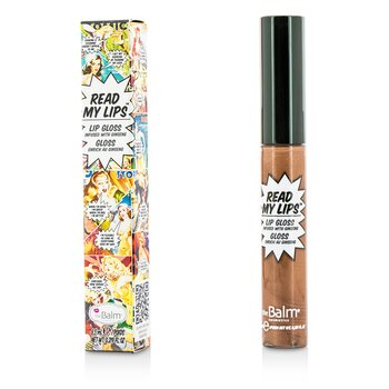 TheBalm Read My Lips (Lip Gloss Infused With Ginseng) - #Ka Bang!  6.5ml/0.219oz