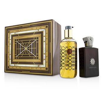 Amouage Lyric Coffret: Eau De Parfum Spray  100ml/3.4oz + Bath & Shower Gel 300ml/10oz  2pcs