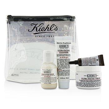 Kiehl's Ultra Facial Set:  4pcs+1bag