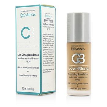 Exuviance CoverBlend Skin Caring Foundation SPF20 - # Desert Sand  30ml/1oz