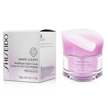 Shiseido White Lucent MultiBright Night Cream  50ml/1.7oz