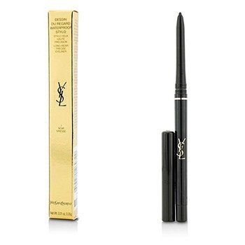Yves Saint Laurent Dessin Du Regard Waterproof Stylo Long Wear Precise Eyeliner - # 1 Noir Ivresse  0.35g/0.01oz