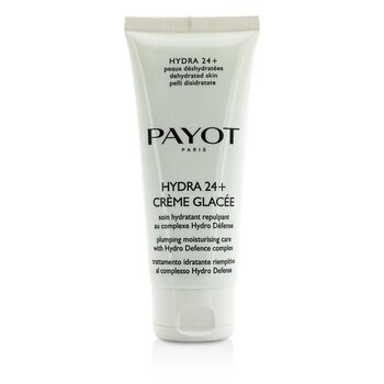 Payot Hydra 24+ Creme Glacee Plumpling Moisturizing Care - For Dehydrated, Normal to Dry Skin (Salon Size)  100ml/3.3oz