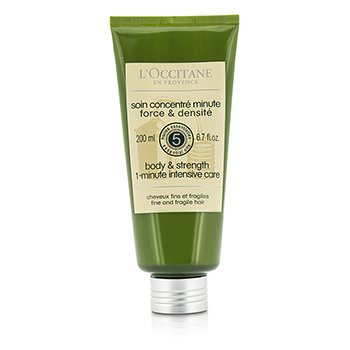 L'Occitane Aromachologie Body & Strength 1-Minute Intensive Care (Fine and Fragile Hair)  200ml/6.7oz
