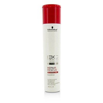 Schwarzkopf BC Repair Rescue Reversilane Shampoo (For Fine to Normal Damaged Hair)  250ml/8.5oz