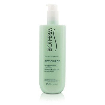 Biotherm Biosource Purifying & Make-Up Removing Milk - For Normal/Combination Skin  400ml/13.52oz
