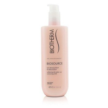 Biotherm Biosource Softening & Make-Up Removing Milk - For Dry Skin  400ml/13.52oz