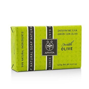 Apivita Natural Soap With Olive  125g/4.41oz