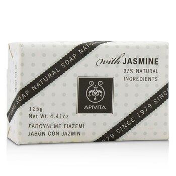 Apivita Natural Soap With Jasmine  125g/4.41oz