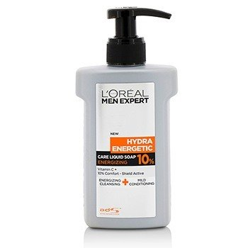L'Oreal Men Expert Hydra Energetic Care Liquid Soap Energizing (Pump)  150ml/5oz