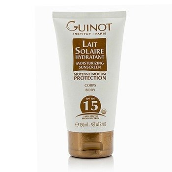 Guinot Lait Solaire Hydratant Moisturizing Sunscreen For Body SPF15  150ml/5.2oz