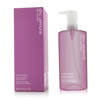 Shu Uemura Nutri: Nectar Gentle Cleansing Oil in Emulsion  450ml/15.2oz